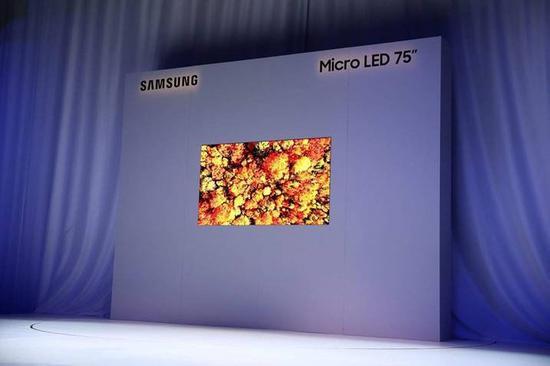 三星75吋Micro LED电视