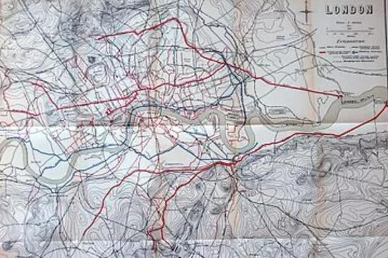 现代伦敦的下水道系统
