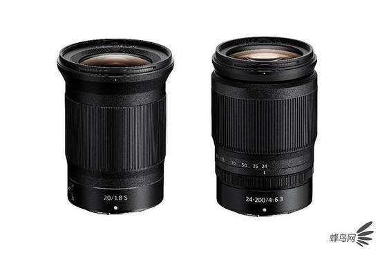 镜头群再丰富 尼康发布Z20mm F1.8以及Z24-200mm镜头 预计4月上市销售