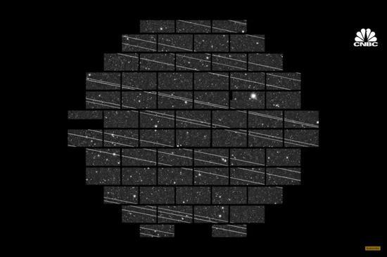 地面天文台拍摄出了星链卫星的轨迹,这破坏了观测