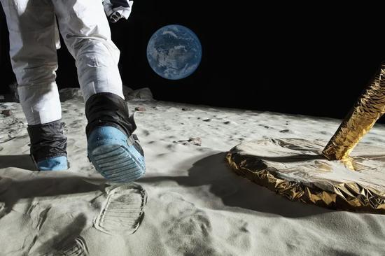 距离人类第一次登月,已经足足过去了 50 年|视觉中国