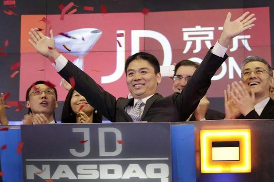 腾讯投资在2014、2016两次战略投资京东,来源:东方IC