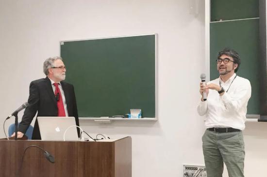 图|赛门扎和广田喜一在日本关西医科大学