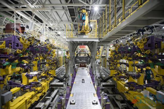 威马智能汽车工厂