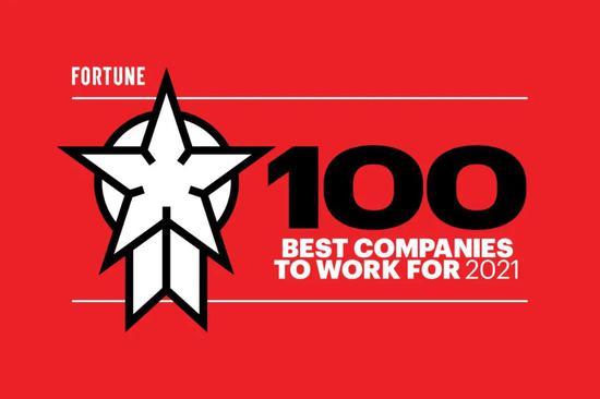 2021年美国最适宜工作的100家公司:思科第一 英伟达第12