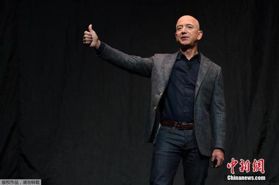 资料图:亚马逊CEO贝索斯。