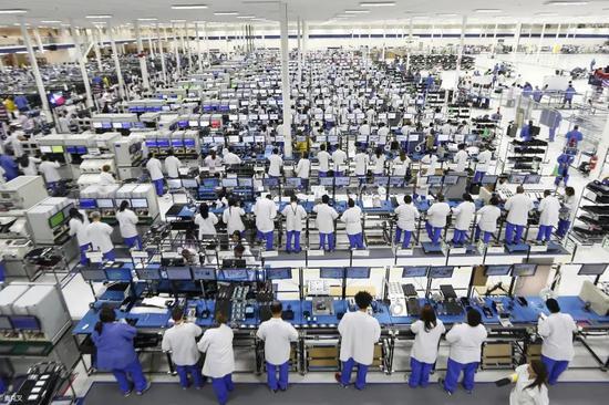 ▲富士康郑州工厂