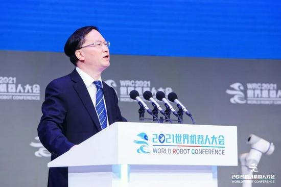 """2021世界機器人大會""""領航峰會""""大咖觀點集錦"""
