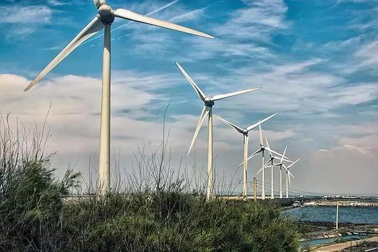 风能是一种清洁无公害的的可再生能源,目前已用于发电。图片来源:pixabay