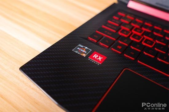 左下角的AMD标识