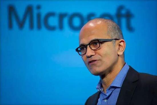 微软CEO萨提亚·纳德拉