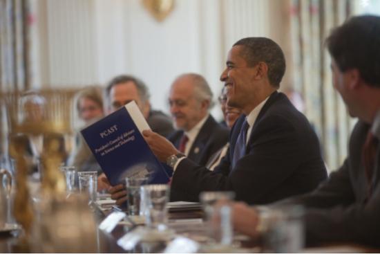 奥巴马任内召开的PCAST内部会议,图片来自obamawhitehouse.archives.gov