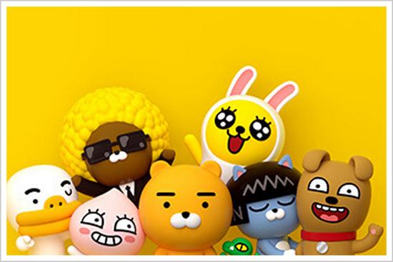 ▲Kakao Friends主要角色 来源:Kakao官网