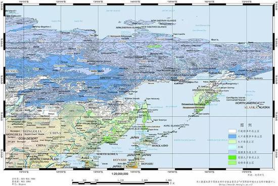 辽阔的西伯利亚永久冻土区,作者:荆博
