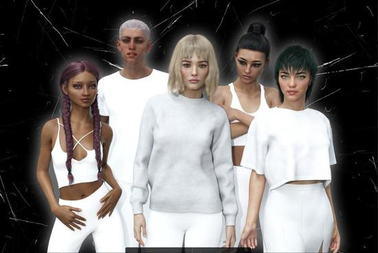 ▲ 从左至右为 Zoya、Mony、Yona、Hexe、Gemini