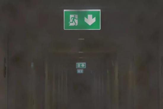 安全通道(图片来源:veer图库)