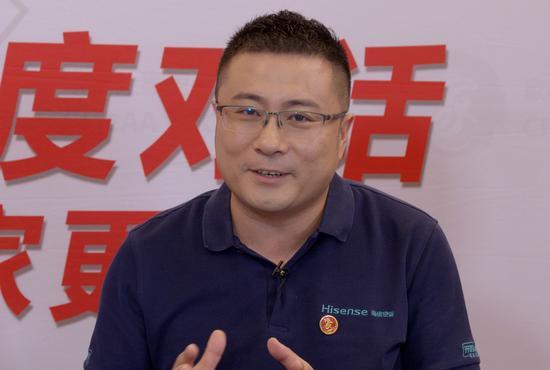 海信空调公司副总裁王宏伟