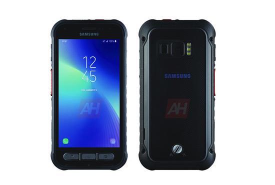 三星Galaxy Active渲染圖曝光 5.2英寸屏幕+4500mAh電池