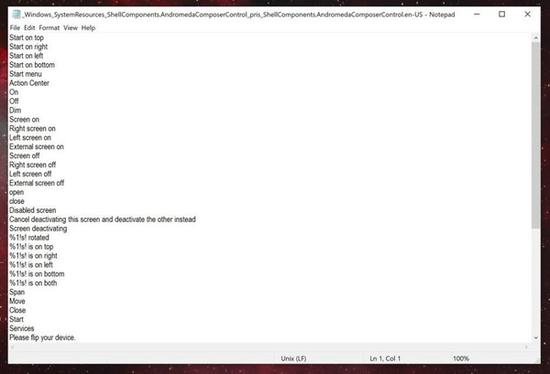 Andromeda操作系统语言包