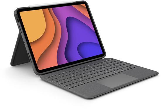 罗技推出专为iPad Air 4设计的Folio Touch键盘