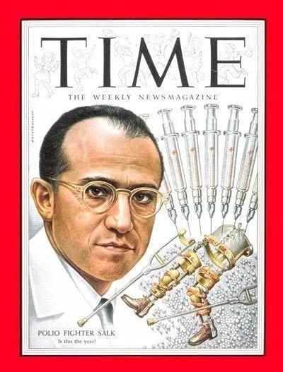 研制脊灰疫苗的乔纳斯·沙克 | TIME Magazine