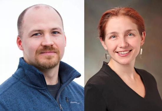 ▲主导这项研究的Adam Williams教授和Stephanie Eisenbarth教授(图片来源:研究机构官网)
