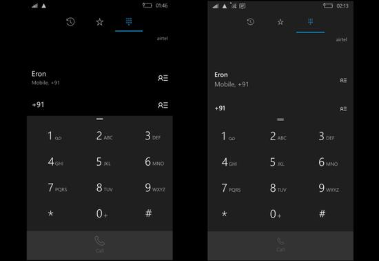 微软更新Win10手机拨号键盘 或为Surface Phone铺路