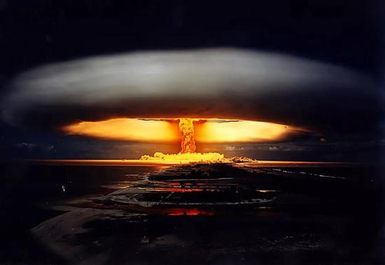 1970年的Licorne核试验。图片来源:planetdeadly