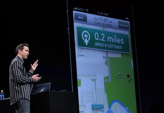 �D注:Apple Maps失�『螅�iOS主管斯科特・福斯特��(Scott Forstall)被迫�o�。
