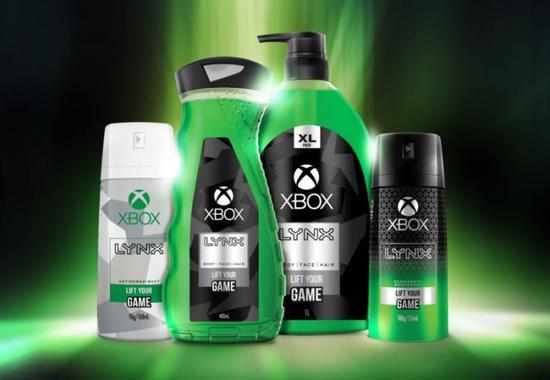 微软已经与Lynx(凌仕)合作洗漱用品?