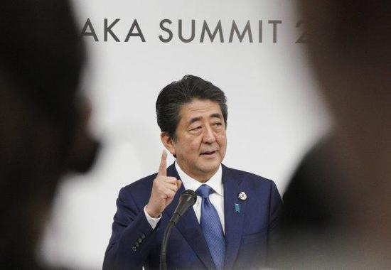 日本首相安倍晋三(纽西斯通讯社)