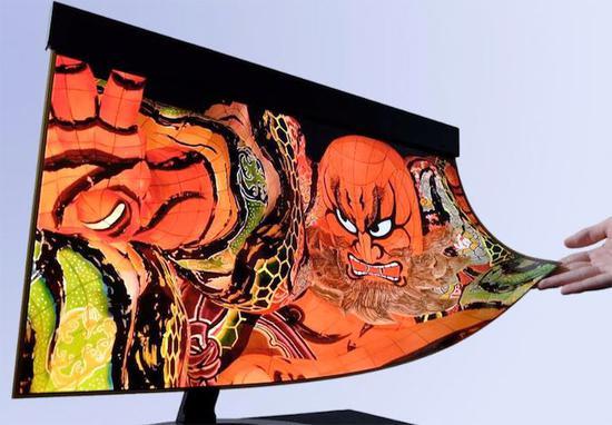 夏普携手NHK开发可卷曲4K OLED显示屏,可简化折叠屏电子设备的生产