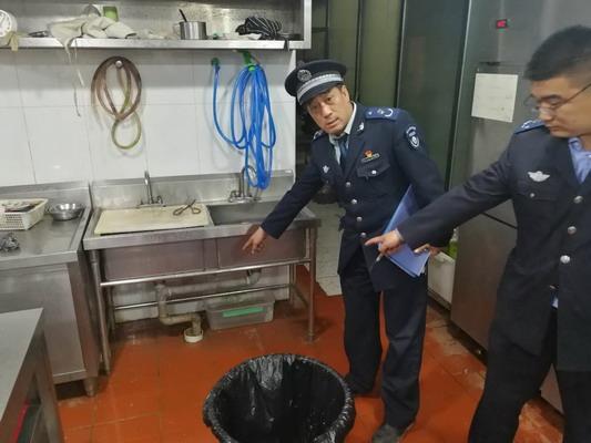 ▲北京市环保局加大对餐馆排放的污染物的监控(图片来自网络)