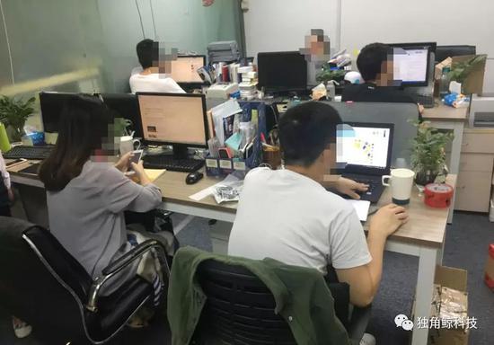 ▲VIKI手机厂商办公室内部