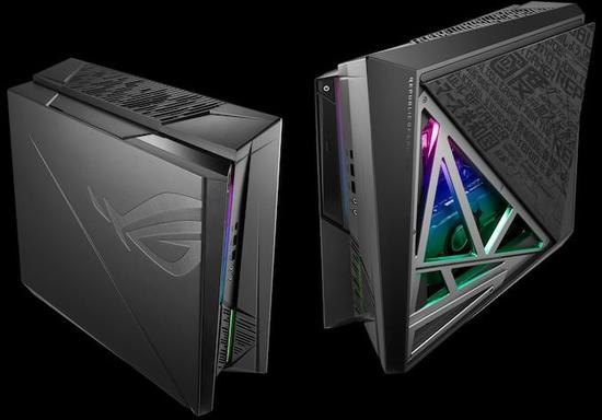 华硕ROG推新款ITX豪华主机:选配i9+RTX 2080配置,磁吸板开盖散热