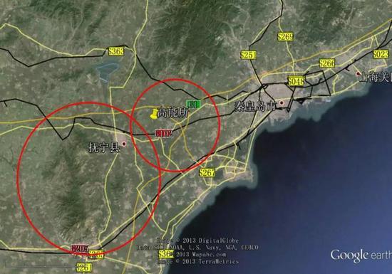 图丨项目的选址地点(来源:http://cepc.ihep.ac.cn)