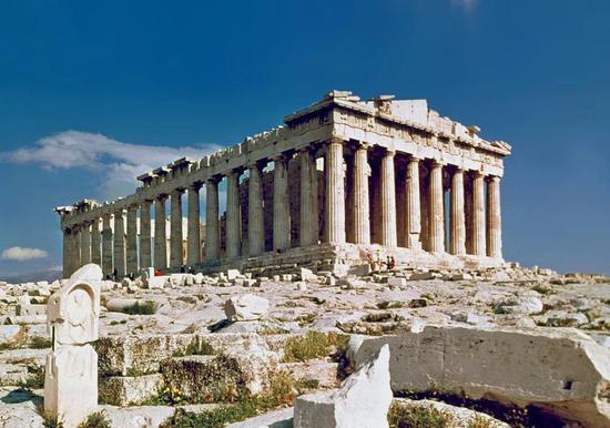 希腊帕特农神庙  维基百科