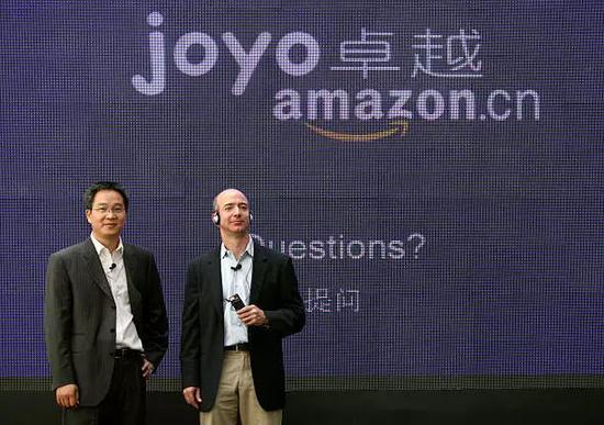 贝索斯上一次访华还是在2007年,当时亚马逊通过收购卓越进入中国市场