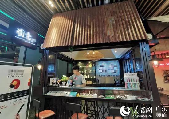 广州某电子烟店。 王楠 摄