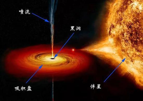 图10 黑洞吞噬恒星的艺术伪想图(NASA/CXC/M.Weiss)