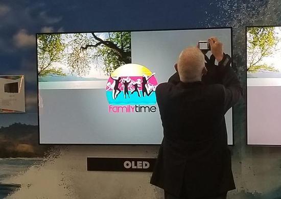 """LG的OLED电视再次陷入""""烧屏门"""""""