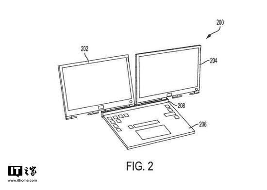 戴尔笔记本新专利:磁性键盘可连接多台显示器