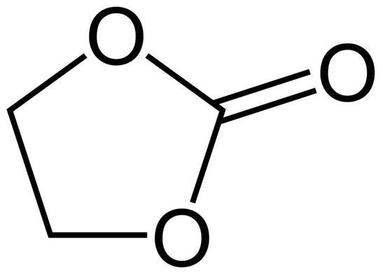 碳酸乙烯酯(Ethylene Carbonate),熔点:34~37℃