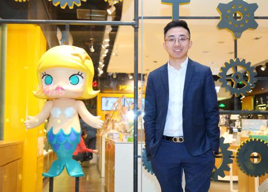 泡泡玛特创始人兼CEO王宁(图源网络)