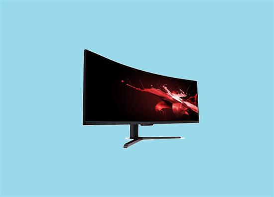 宏碁推出了一款全新的超长带鱼屏电竞曲面显示器——Acer EI491CR Amy
