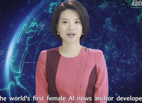 中国首个AI合成女主播上岗 真真假假完全不好分