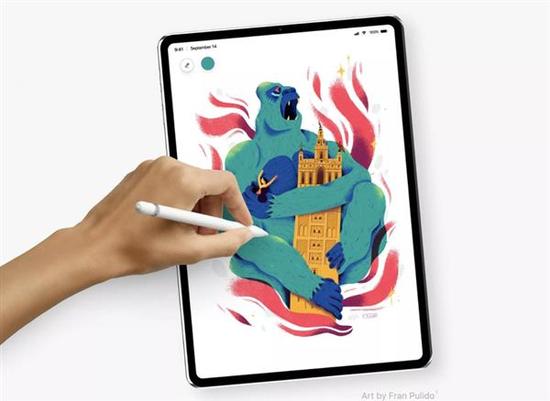 """外媒曝光取消Home键的""""全面屏""""iPad Pro"""