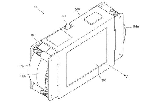 索尼无人机专利文件