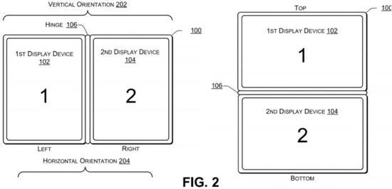 戴尔申请新专利 双屏设备从PC角度出发