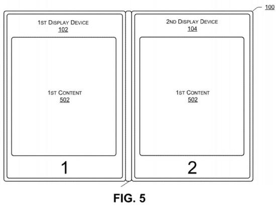 戴尔关于双屏的专利图